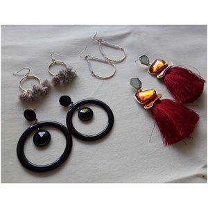 Tassel earrings bundle